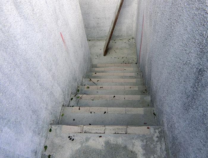 【施工前】階段部分