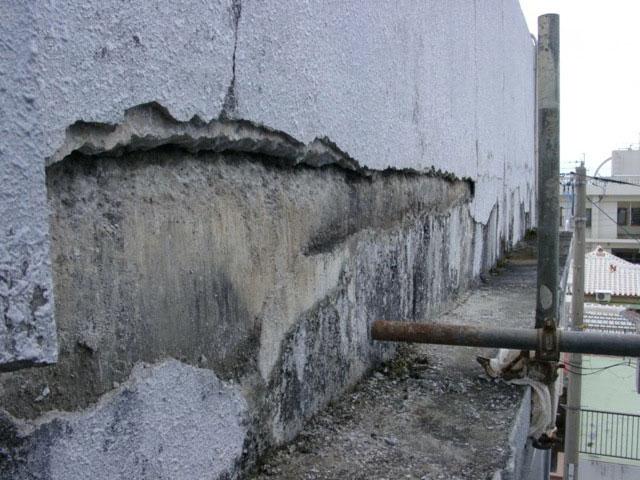 コンクリート剥落