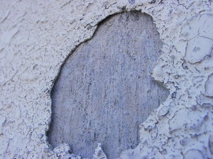 塗膜の剥離
